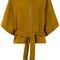 Iro - kimono leather jacket - women - goat suede - 40, nude/neutrals, goat suede