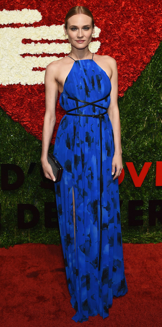jacket blue blue dress maxi dress diane kruger gown dress