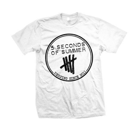 5SOS: Derping Stamp T-Shirt - Small  - Clothing - 5 Seconds of Summer