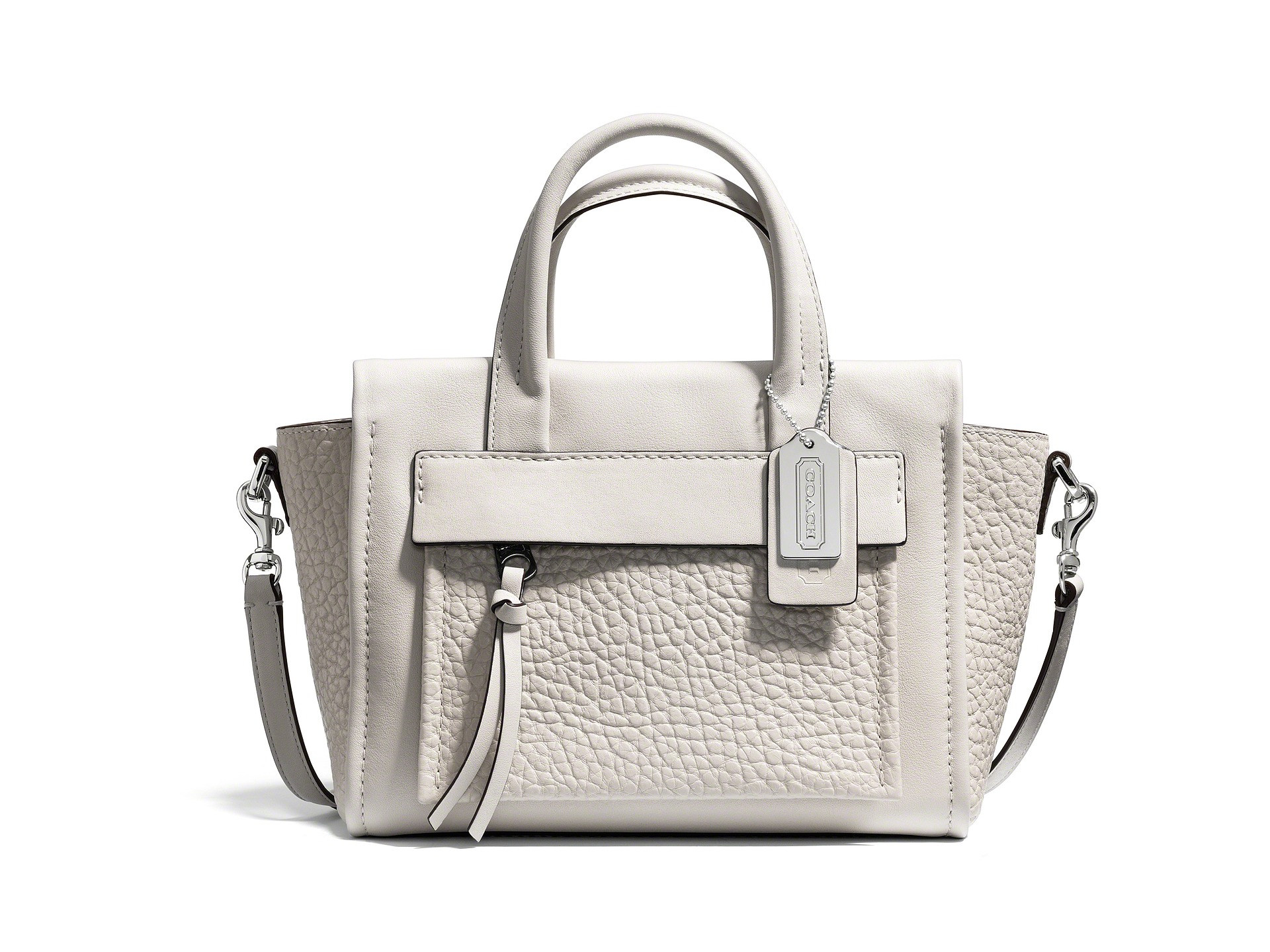 COACH Bleecker Leather Mini Pocket Carryall