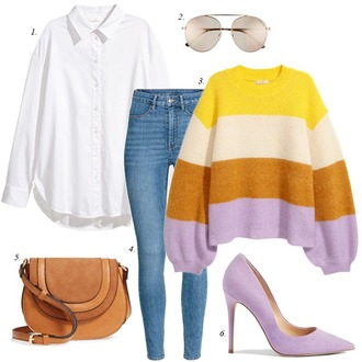 dailystylefinds blogger shoes scarf sweater leggings bag jewels cardigan socks