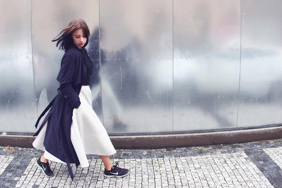 midi skirt blogger danny rose