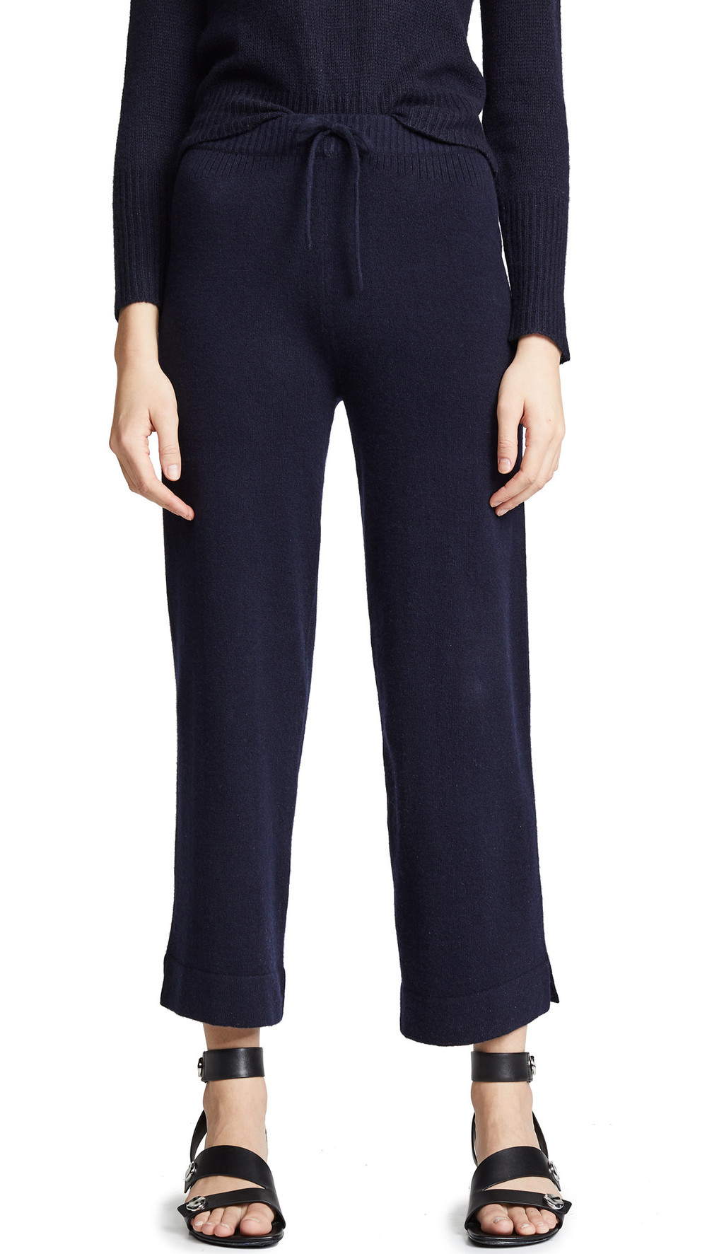 M.PATMOS Didion Cashmere Pants in navy