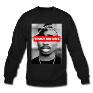 Trust No One Crewneck | Bro_Oklyn Inc Co.