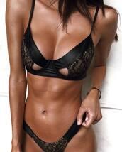 swimwear,black swimwear