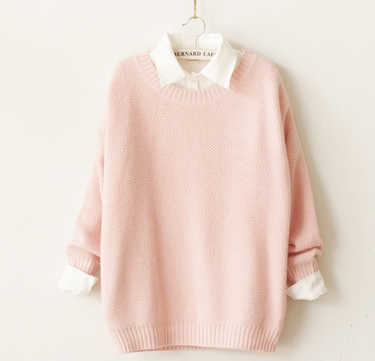 Women S Fashion Cute Pastel Knit Sweater 183 Women Fashion