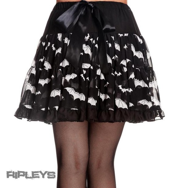 Black Goth Skirt 36
