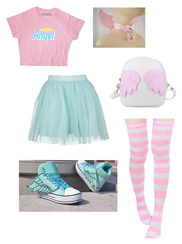 Shoes Blue Pastel Ddlg Baby Blue Shoes Harajuku