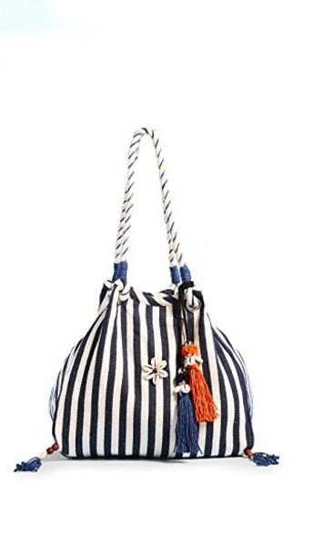 JADEtribe beach bag orange