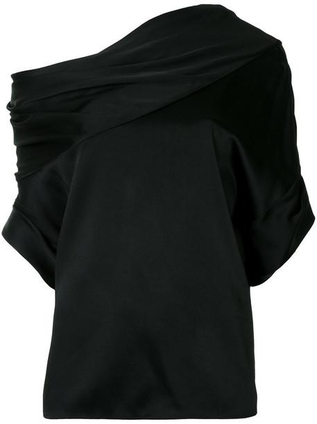 Monse top draped top women draped black