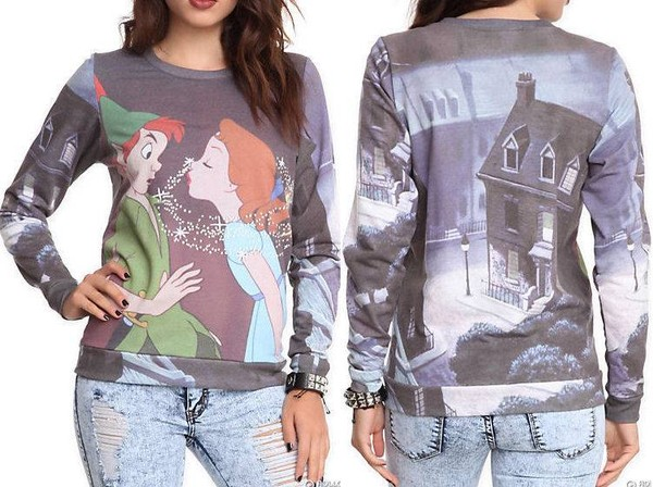 sweater disney peter pan