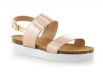shoes rose gold sandals