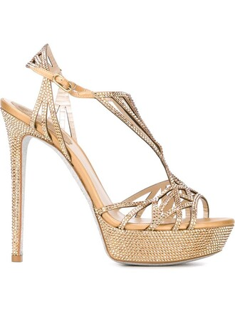 strappy embellished sandals strappy sandals metallic shoes