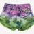 Ivy Vintage Dyed Frayed Studded Shorts | RUNWAYDREAMZ