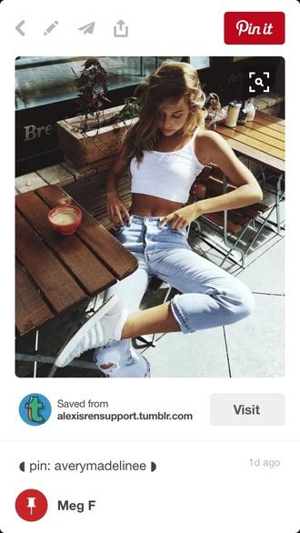 jeans cute summer fashion