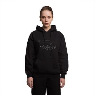 sweater fusion clothing black black hoodie hoodie pullover jumper swetshirt black sweater womenswear