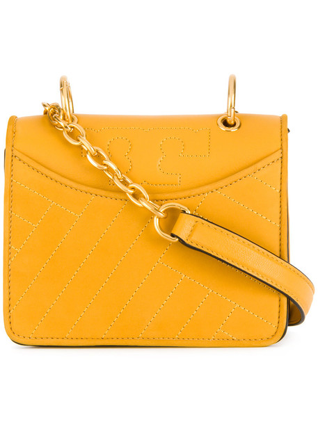 mini shoulder bag mini women bag shoulder bag leather yellow orange