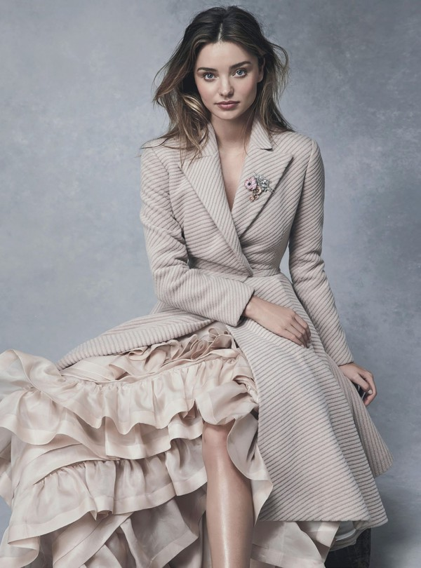 miranda kerr coat skirt