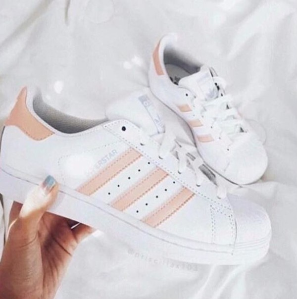 adidas originals superstar 2 damen sneaker wei pink gr e 36 2 3 schuhe handtaschen. Black Bedroom Furniture Sets. Home Design Ideas