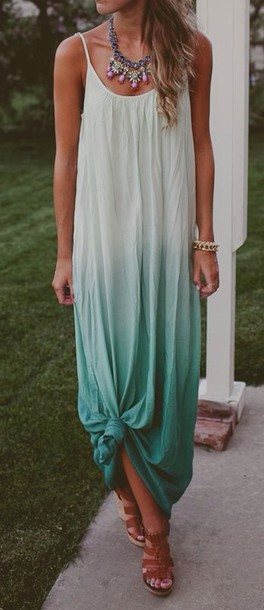 2019 year lifestyle- 38 summer adorable ombre outfit