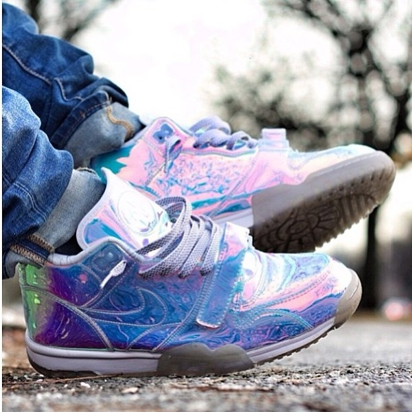 shoes nike holographic holographic hologram sneakers