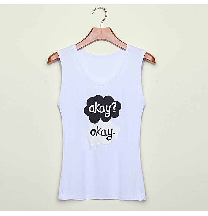 Free Shipping 2014 New Women T Shirt Women Summer Top Letter Okay Okay Print Cotton T shirt Plus Size Tee Top for Women 5768-in T-Shirts from Apparel & Accessories on Aliexpress.com | Alibaba Group