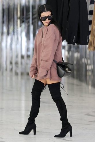 dress kourtney kardashian shoes sweater