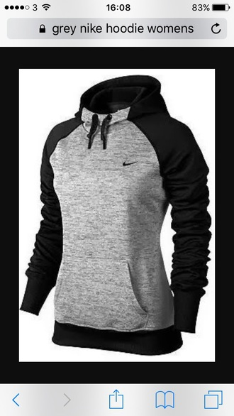 sweater nike jacket fall sweater fall outfits cute fashion warm warm sweater grey grey sweater black sweater