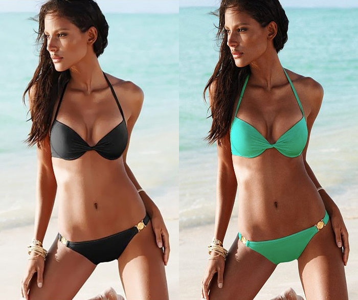 Women Sexy Push Up Padded Swimwear Swimsuit Bikini Sets Bra Underwear s M L | eBay