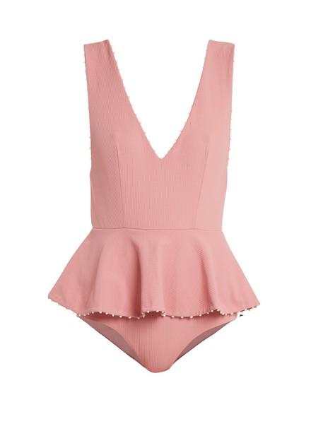 marysia swim pink swimwear
