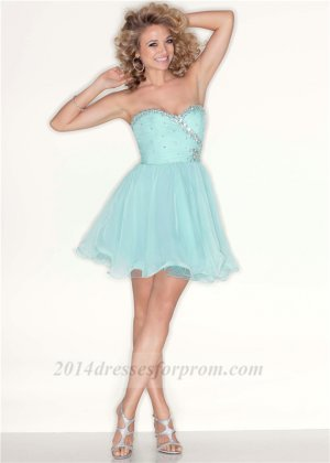 Mori Lee 9212 Mint Beaded Baby Doll Cocktail Dress [short blue dresses for prom 2014] - $137.00 : Cheap Sequin Prom Dresses2014,Online Tailored Prom Dresses Shop,Homecoming Dresses Cheap