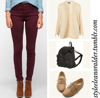 jeans burgundy skinny jeans cute shorts shoes pants burgundy jeans