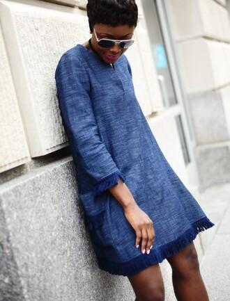 skinny hipster blogger dress sunglasses top jeans shoes pocket dress