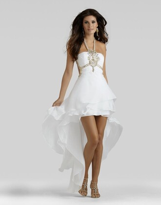 dress high-low dresses charming design elegant clarisse prom dress party dress