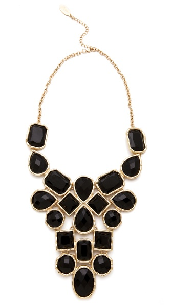 Adia Kibur Stone Bib Necklace Shopbop