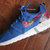 Nike Roshe Run Blue White Roses Women