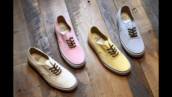 white white shoes cream pink yellow yellow shoes blue vans vans of the wall prom dress high low aztec shoes