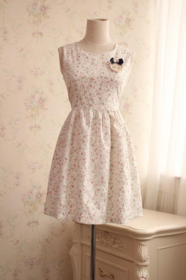 dress floral dress dress lovely dress lace