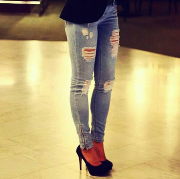 Pants ripped jeans jammmys gloves jeans skinny jeans ripped skinny jeans ripped light ...