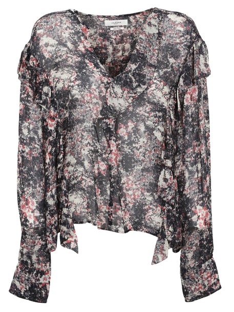 Isabel Marant etoile blouse red top
