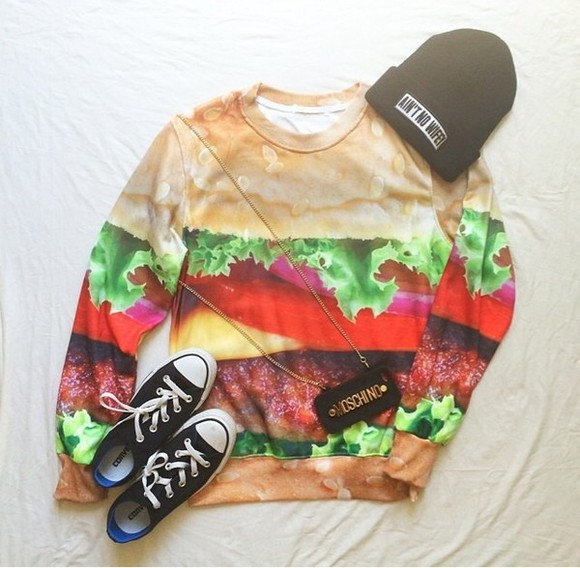 hamburger menswear sweater