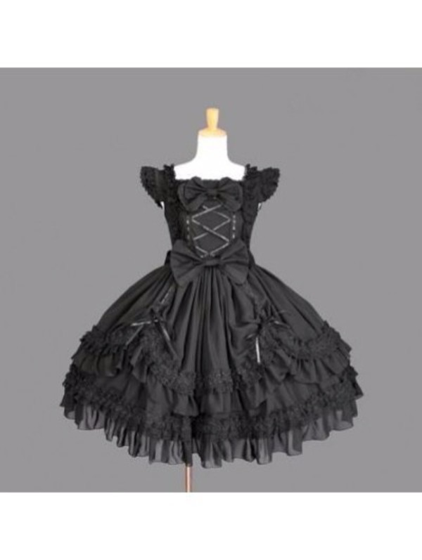 dress black dress cosplay cosplay dress