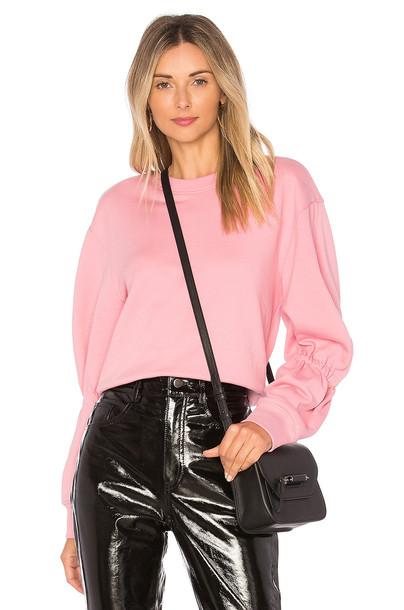 Tibi sweatshirt pink sweater