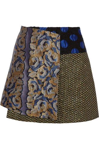 skirt mini skirt jacquard