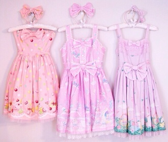 dress kawaii kawaii dress cute sweet hentai lovely japanese pink dress pink purple dress purple blue blue dress pastel pastel pink pastel grunge pastel color lolita