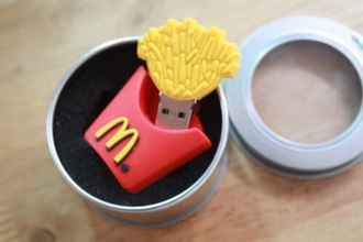 home accessory usb flash drive mcdonald technology computer accessory mcdonalds food