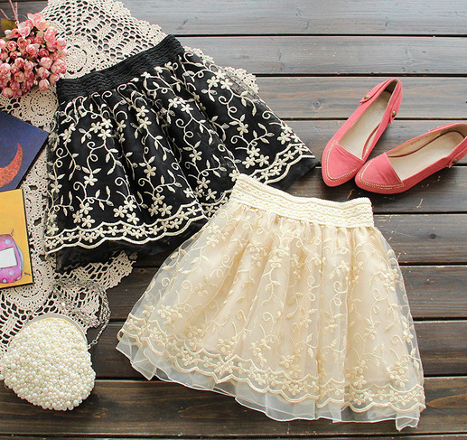Spring 2013 Women Korean version of the retro sweet embroidered skirts lovely princess tutu skirt 366-in Skirts from Apparel & Accessories on Aliexpress.com