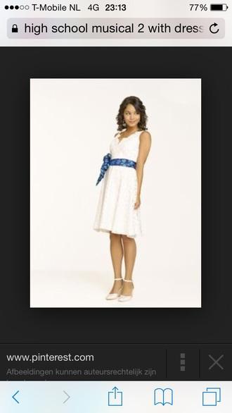 white dress vanessa hudgens