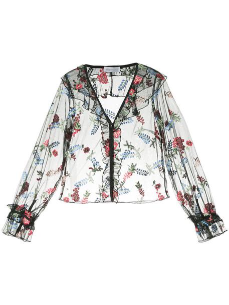 Alice McCall blouse women black top