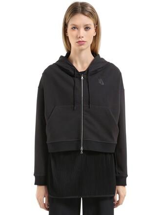sweatshirt crop sweatshirt black sweater